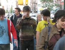 PARK BENCH CINEMA: ALMOST GRAND<br />public sound art, 2007