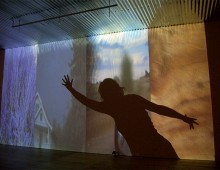 SHADOW MIX: INSIDE/OUT</br />sound + video installation, 2006